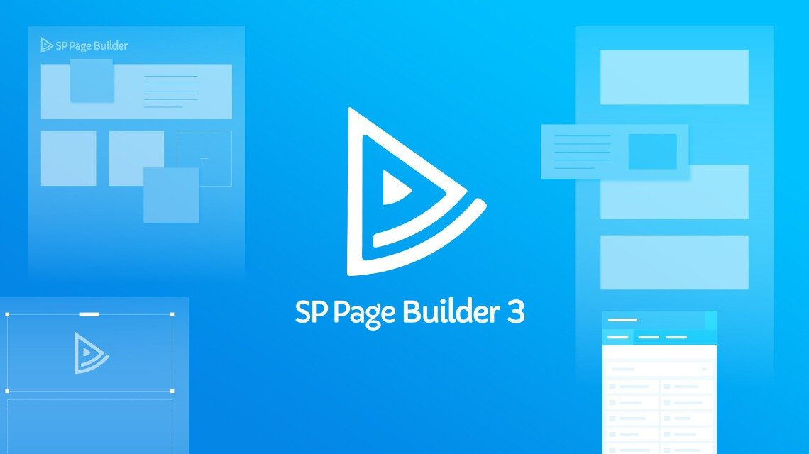 SP PAGE BUILDER PRO V3.3 - VISUAL DESIGNER OF PAGES FOR JOOMLA